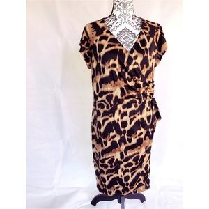 Tiana B. 1x Leopard dress